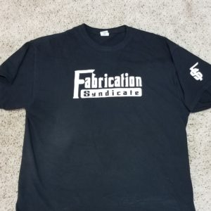 black Fabrication Syndicate t shirt